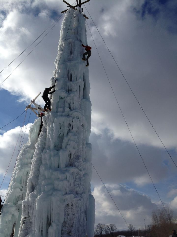 Attraction Profile The Peabody Ice Climbing Club Flint