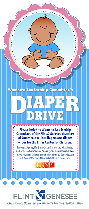women�s leadership committee closes year with diaper drive