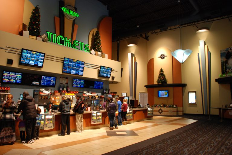 NCG Trillium Theater Lobby and Concession Stand