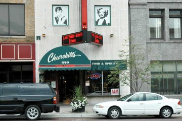Churchill's Food and Spirits, Flint, Michigan