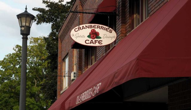 Cranberries Cafe, Goodrich, Michigan
