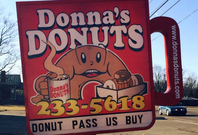 Donna's Donuts, Flint, Michigan