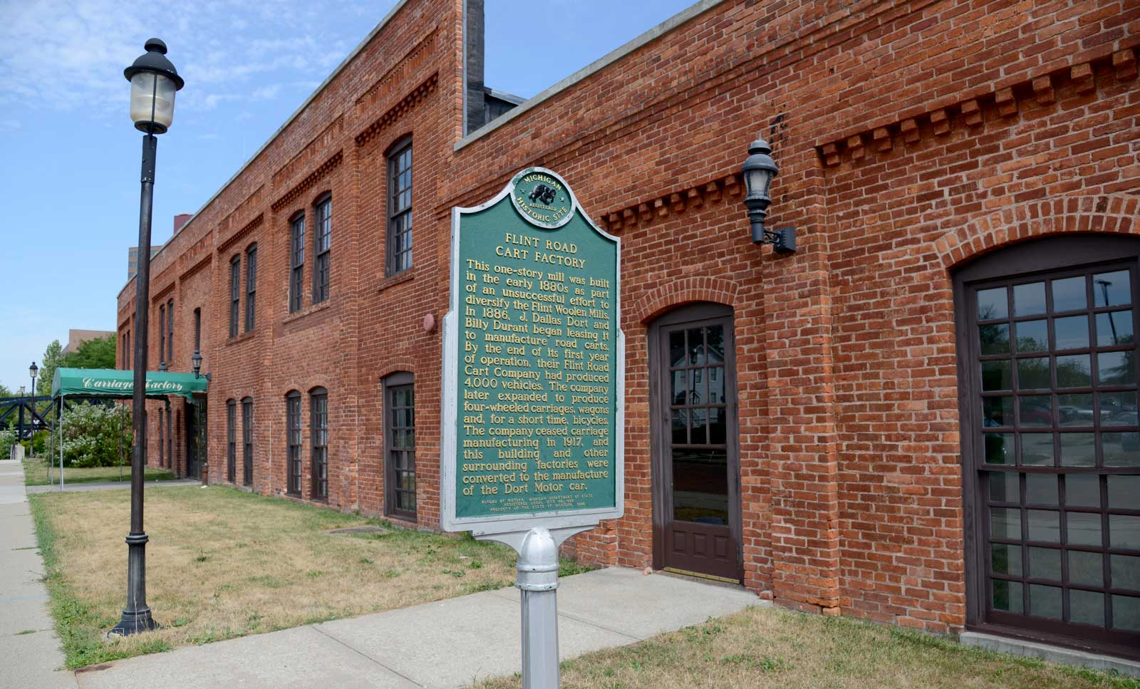Durant Dort Carriage Company Historic Landmark Flint And