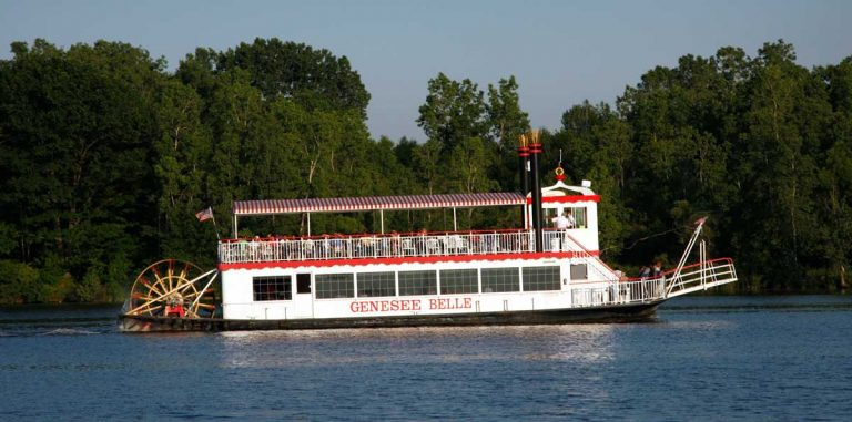 Genesee Belle Paddlewheel Riverboat, Flint, Michigan