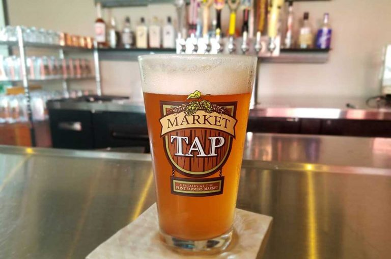 Market Tap at the Flint Farmers' Market, Flint, Michigan