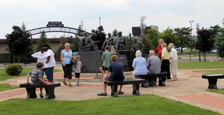 UAW Sitdown Strike Memorial, Flint, Michigan