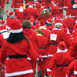 YMCA Santa Run/Walk, Flint, Michigan