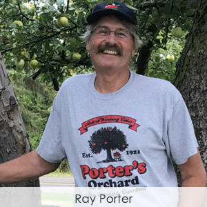 Ray Porter, Porter's Orchard, Goodrich