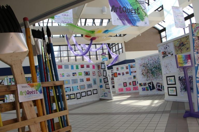 Public Invited to View Student Artwork During ArtQuest Exhibition
