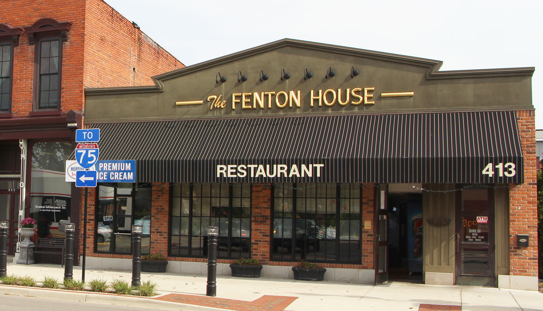 The Fenton House Restaurant Flint And
