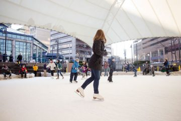 University of Michigan-Flint Ice Rink, outdoor recreation, Flint, Michigan