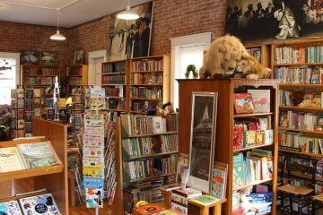 Beloved Books, shopping, Linden, Michigan