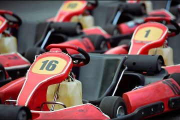 Extreme Indoor Kart Racing, indoor recreation, Clio, Michigan