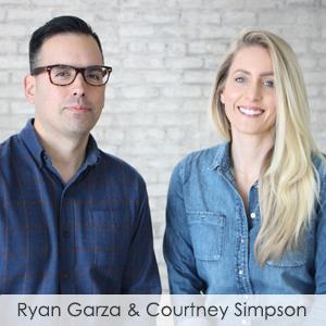 Ryan Garza & Courtney Simpson