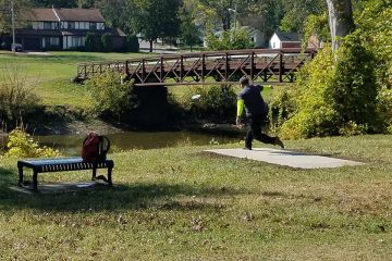 Mott Park Recreation Disc Golf Course, Flint, Michigan