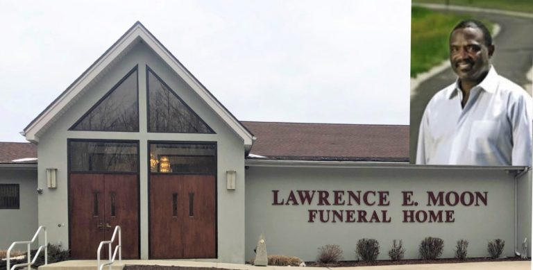 For funeral director Lawrence Moon, home is where the heart is