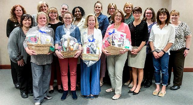Members of the Women's Leadership Committee
